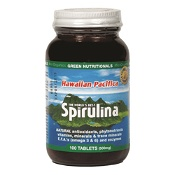 Green Nutritionals Hawaiian Pacifica Spirulina 500mg 100 Tablets