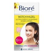 Biore Ultra Deep Cleansing Pore Strips 6 Pack