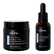 Alkira Intense Hydration Pack (Moisture Restoring Night Cream 120ml & Hydrating Facial Oil 30ml)