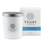 Tilley Scented Soy Candle Violet Fields 240g