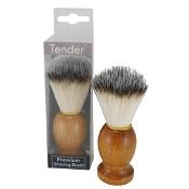 Tender Pure Bristle Wood Handle Premium Shave Brush Boxed