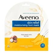 Aveeno Skin Relief Moisturising Foot Mask 1 Pack