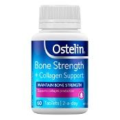 Ostelin Bone Strength + Collagen 60 Tablets