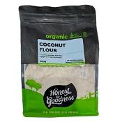 Honest to Goodness Organic Coconut Flour 850g (Expiry: November 2021, no refunds or exchanges)