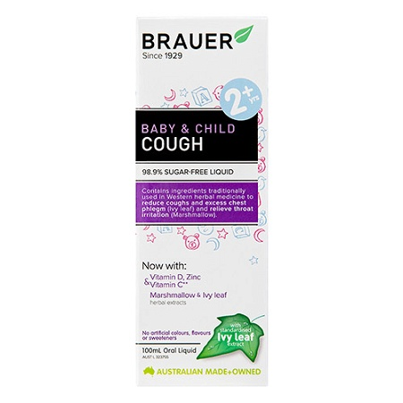 Brauer Baby & Child Cough Relief Oral Liquid 100ml