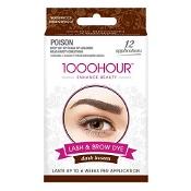 1000 Hour Eyelash & Brow Dye Kit Dark Brown