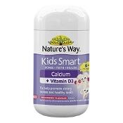 Natures Way Kids Smart Calcium + D3 50 Capsules