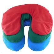 Silicone Bead Heat Pack Neck Cushion Polar Fleece Cover