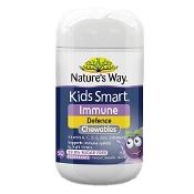 Natures Way Kids Smart Immune Defence 50 Chewable Tablets