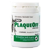 Troy PlaqueOff Powder for Dogs 40g