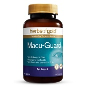 Herbs of Gold Macu-Guard with Bilberry 10 000 90 Tablets