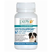 Blackmores PAW OsteoSupport Dog 80 Capsules