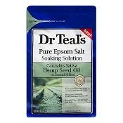 Dr Teals Epsom Salt Hemp Seed Oil 1.36kg