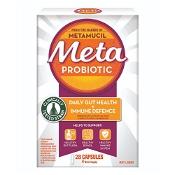 Meta Probiotic Daily Gut Health + Immune Defence 28 Capsules