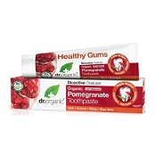 Dr Organic Pomegranate Toothpaste Whitening 100ml