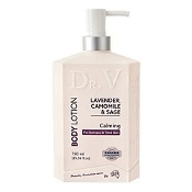 DR. V Body Lotion Lavender, Camomile & Sage (Calming for Stressed & Tired Skin) 750ml