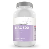 SuperNutraceuticals NAC (N-Acetyl Cysteine) 500mg Capsules 100 {Compounded}