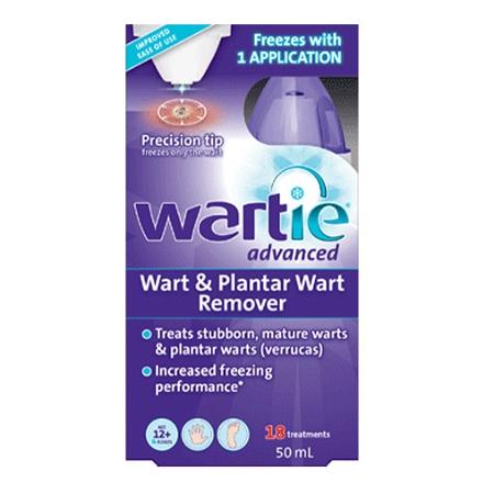 Wartie Advanced Wart & Plantar Wart Remover 50ml