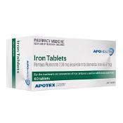 Iron Tabs 60 Tablets APOHEALTH