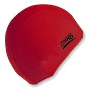 Zoggs Junior Deluxe Stretch Elastane Swim Cap (Colours selected at random)