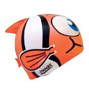 Zoggs Junior Character Swim Cap Assorted Sea Animals (Colours selected at random)