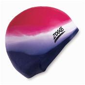 Zoggs Kids Multicolour Silicone Swim Cap (Colours selected at random)