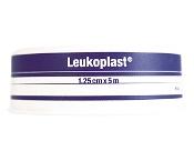 Leukoplast Waterproof Rigid Tape White Navy Blue Spool 1.25cm x 5m