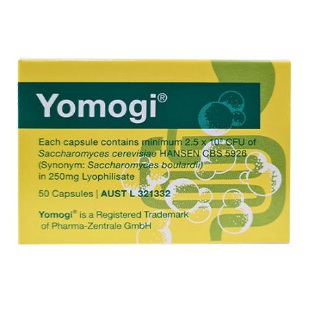 Yomogi Saccharomyces Boulardii 50 Capsules