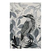 KE Design Linen Tea Towel Kingfisher