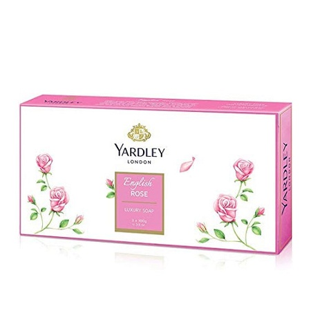 Yardley English Rose Soap 3 x 100g