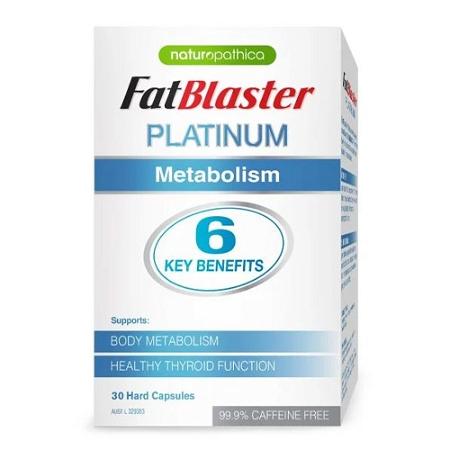 Naturopathica Fatblaster Platinum Metabolism 30 Capsules