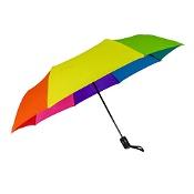 Shelta 3655 Auto Open Mini Umbrella Rainbow