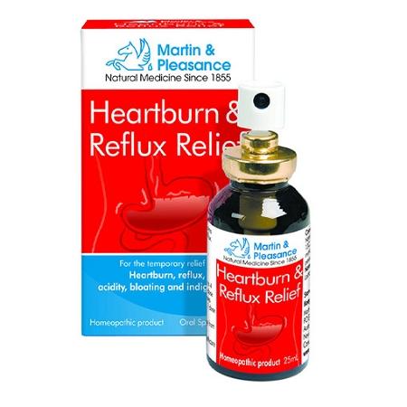 Martin & Pleasance Heartburn & Reflux Relief Spray 25ml