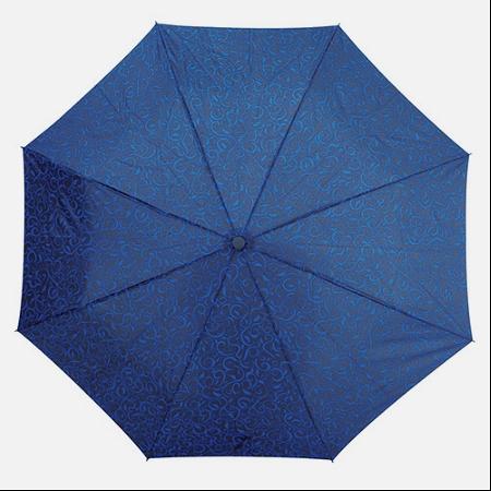 Shelta 3791 Mini Maxi Xanadu Print Umbrella Blue Vine