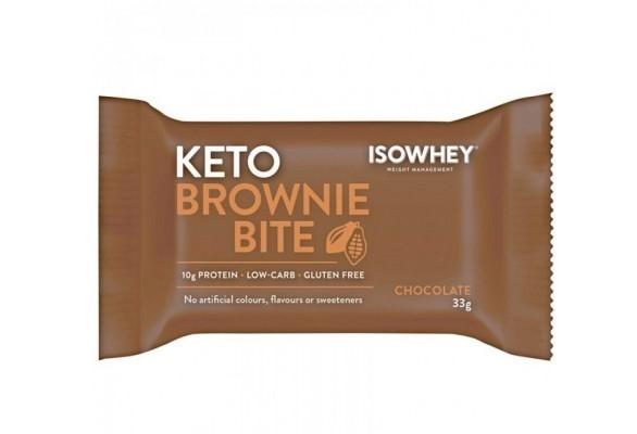 IsoWhey Keto Brownie Bite Chocolate 33g