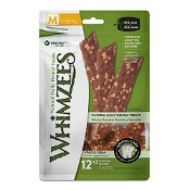 Whimzees Daily Dental Treat Veggie Strips Medium 12-18kg 14 Pack