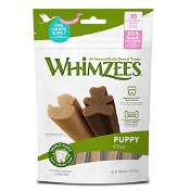 Whimzees Daily Dental Treat Puppy Chew 2-9kg 30 Pack