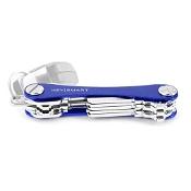KeySmart Key Holder Aluminium (Up to 8 Keys) Blue