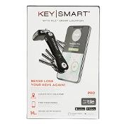 KeySmart Pro Tile Smart Location Tracking (up to 14 Keys) Black