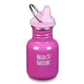 Klean Kanteen Kids Classic 355ml Sippy Cap Bottle Bubble Gum