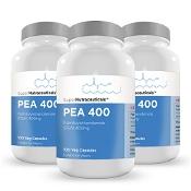 PEA 400mg Capsules 300 (Palmitoylethanolamide) Micronised