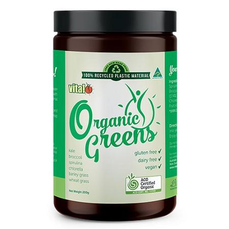 Vital Organic Greens 200g