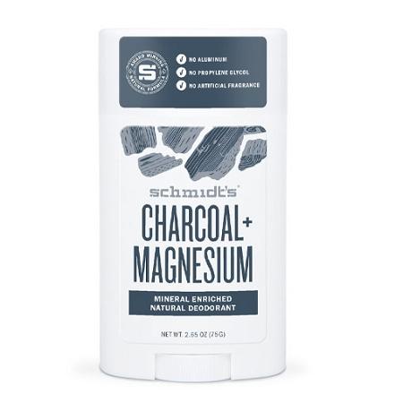 Schmidts Charcoal + Magnesium Deodorant Stick 75g