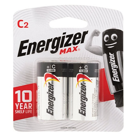 Energizer Battery Max E93 C 2 Pack
