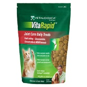 Vetalogica VitaRapid Joint Care Daily Treats for Cats 100g