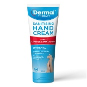 Dermal Therapy Sanistising Hand Cream 60ml