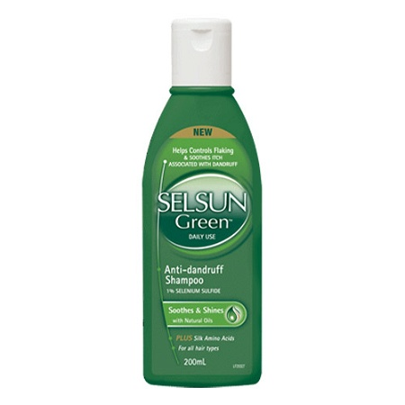 Selsun Green Anti-Dandruff Shampoo 200ml