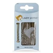 Lady Jayne Hair Pins Brown 6.25cm 25 Pack