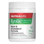 Nutra-Life Kyolic Aged Garlic Extract Heart & Cholesterol 120 Capsules