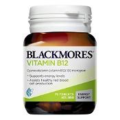 Blackmores Vitamin B12 100mcg 75 Tablets